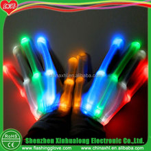 LED Light-Up Rainbow Gloves Colorful Flashing Light-emitting Gloves