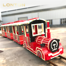Theme Park Decorative Indoor Games Electric Train Lovely Track Train