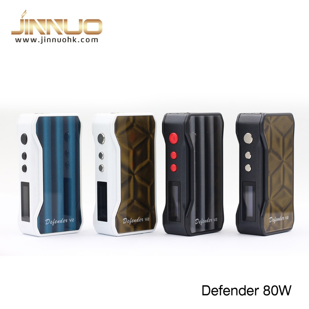 New china product for sale Jinnuo Defender 80W mod vapor mod knight 2016