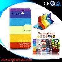 new product wallet card slots stand cover flip leather case for Acer Liquid X1 S53