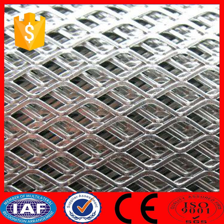 High quality Expend metal flatten machine mesh Expanded metal mesh