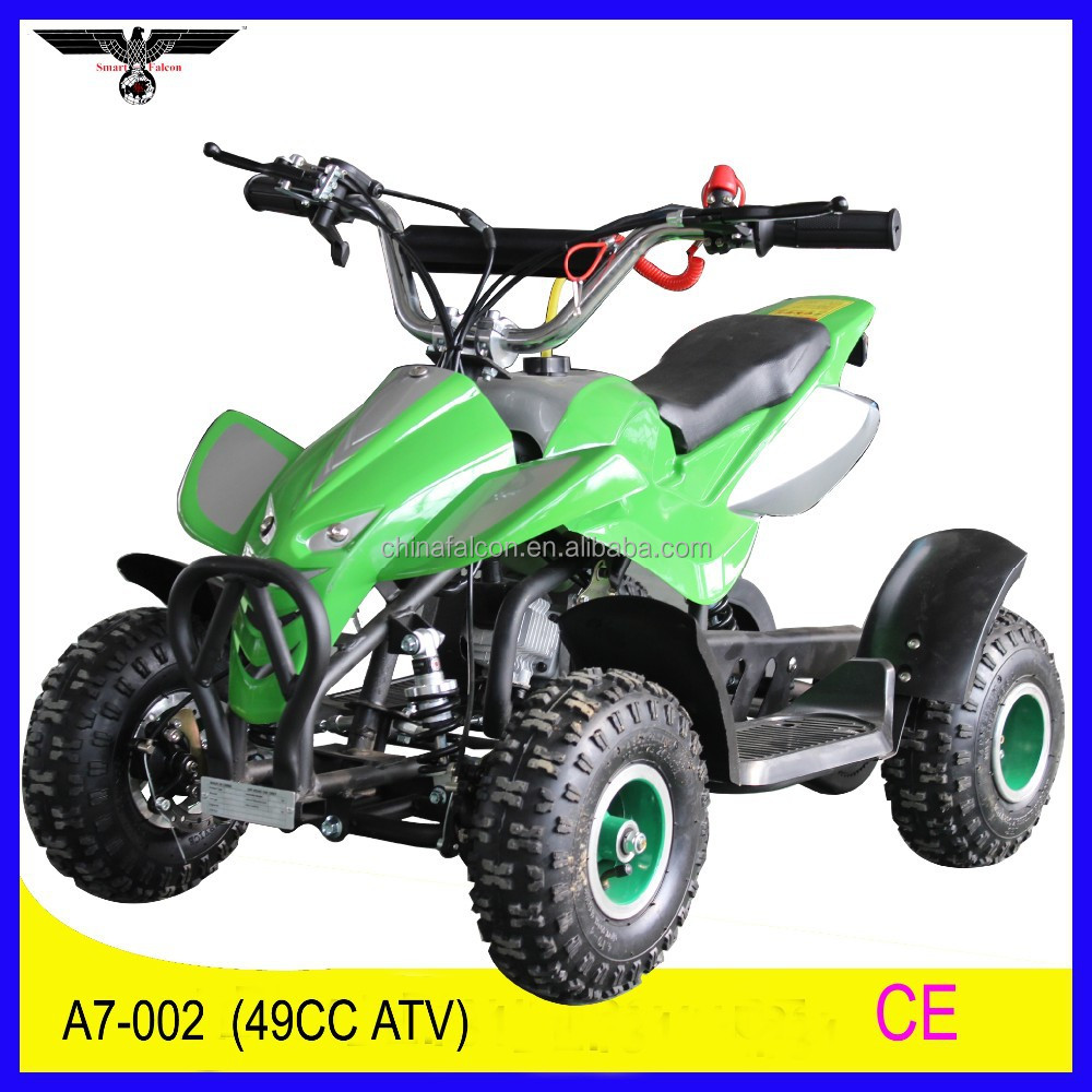 China manufacturer CE cheap mini 49cc quads for sale (A7-002)