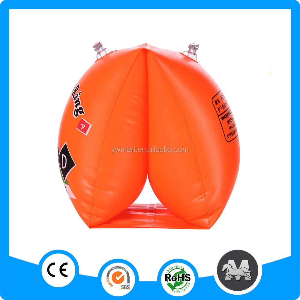 Promotional pvc inflatable swim arm ring for children
