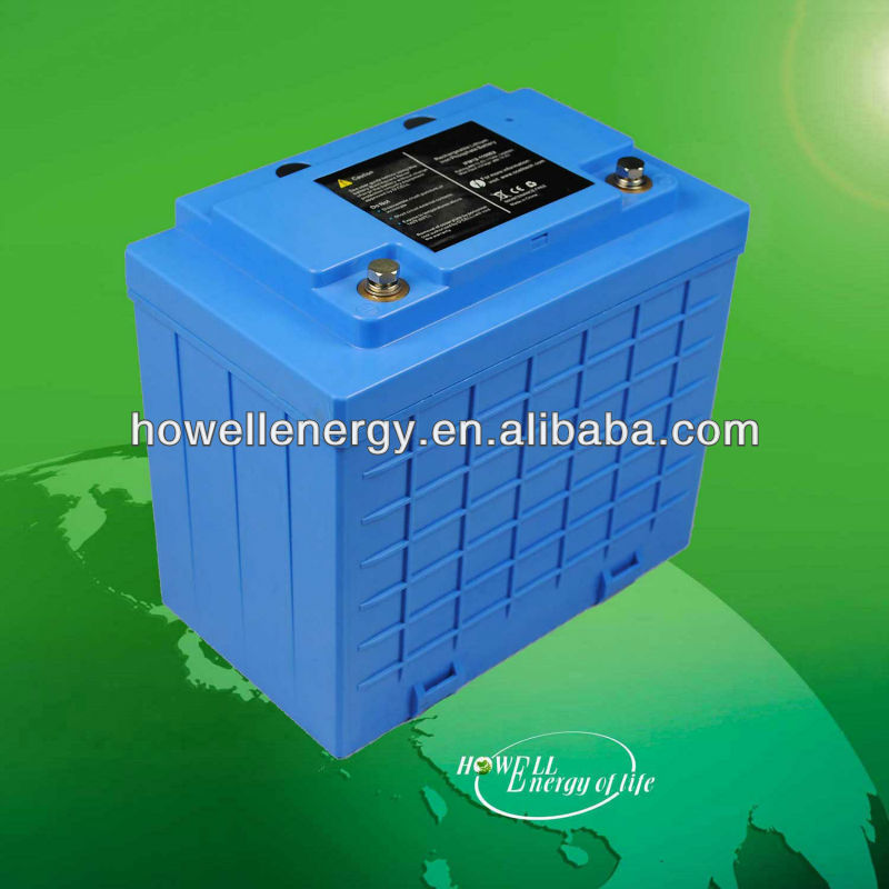 LiFePo4 Battery 12V/ 24V/36V/48V/72V/96V 10Ah 30Ah 40Ah 50Ah 60Ah 80Ah and 100Ah LiFePo4 Battery For Solar ebike UPS with CE