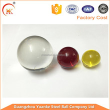 Yuanke Glass Beads 5mm Round Crystal