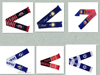 Cheap custom made sport men football team scarf wholesale from china