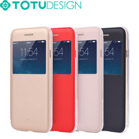 TOTU New Arrival Starry sereis Stand design PU leather Mobile Phone Cover for iPhone 6 case