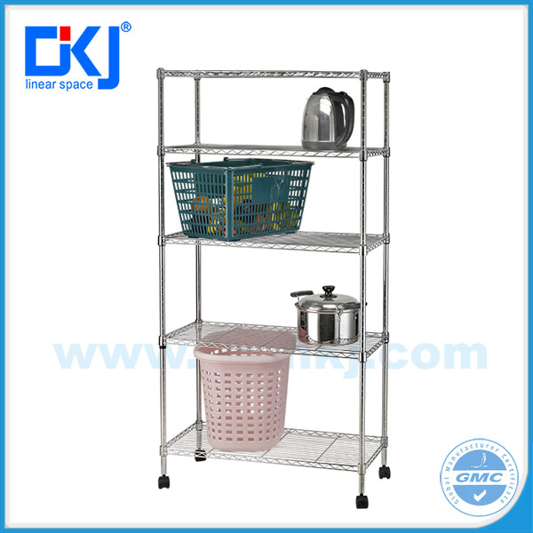2016 new design heavy duty HKJ-B015 wire shelving metal rack