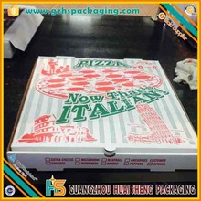 "Printed Wholesale Food Paper Corrugated 24"" Pizza Boxes For Sale"