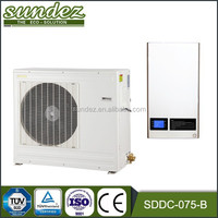 SDDC-075-B DC inverter heat pump efficiency heat pump heating and cooling