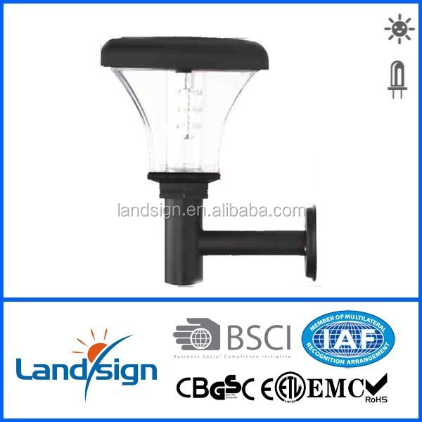 Cixi landsign solar wall lamp with sensor