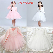 One piece Children Frocks Designs Party Girls Birthday Dresses AG-WD0018