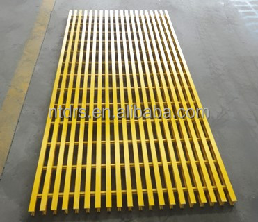 Easy assembling FRP Pultruded Grating grids for construction use low maintenance cost