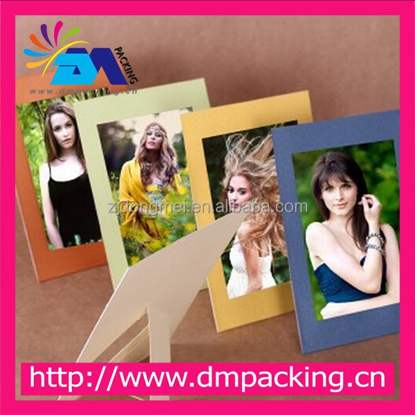 beautiful paper frame for photo