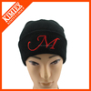 2015 Winter Custom Embroidery Knit Ski Hat with cuff