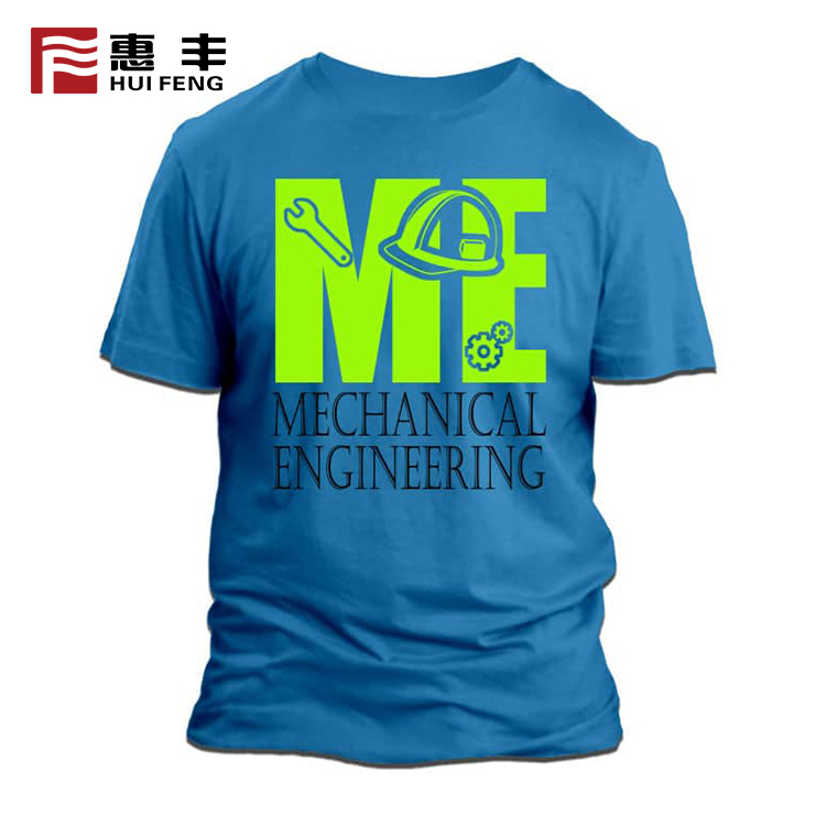High Quality Low Price Printed T Shirts For Men , T-Shirt Printing Custom Polyester Gym T Shirt