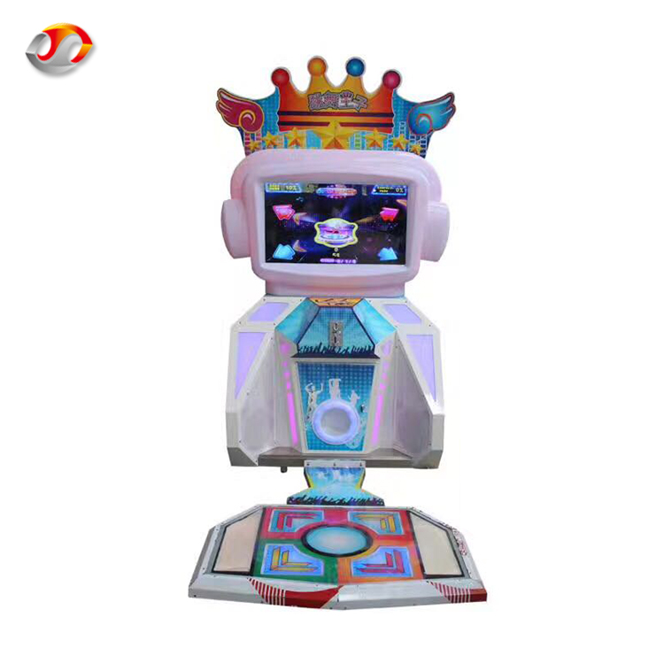 Factory Price Easy Maintenance Kids Electronic Metal Arcade Dance Prince Master Game Electronic Dance Machine Of Guangzhou