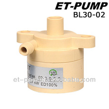 high pressure maintain less flow rate BL30-02 Brushless DC pump