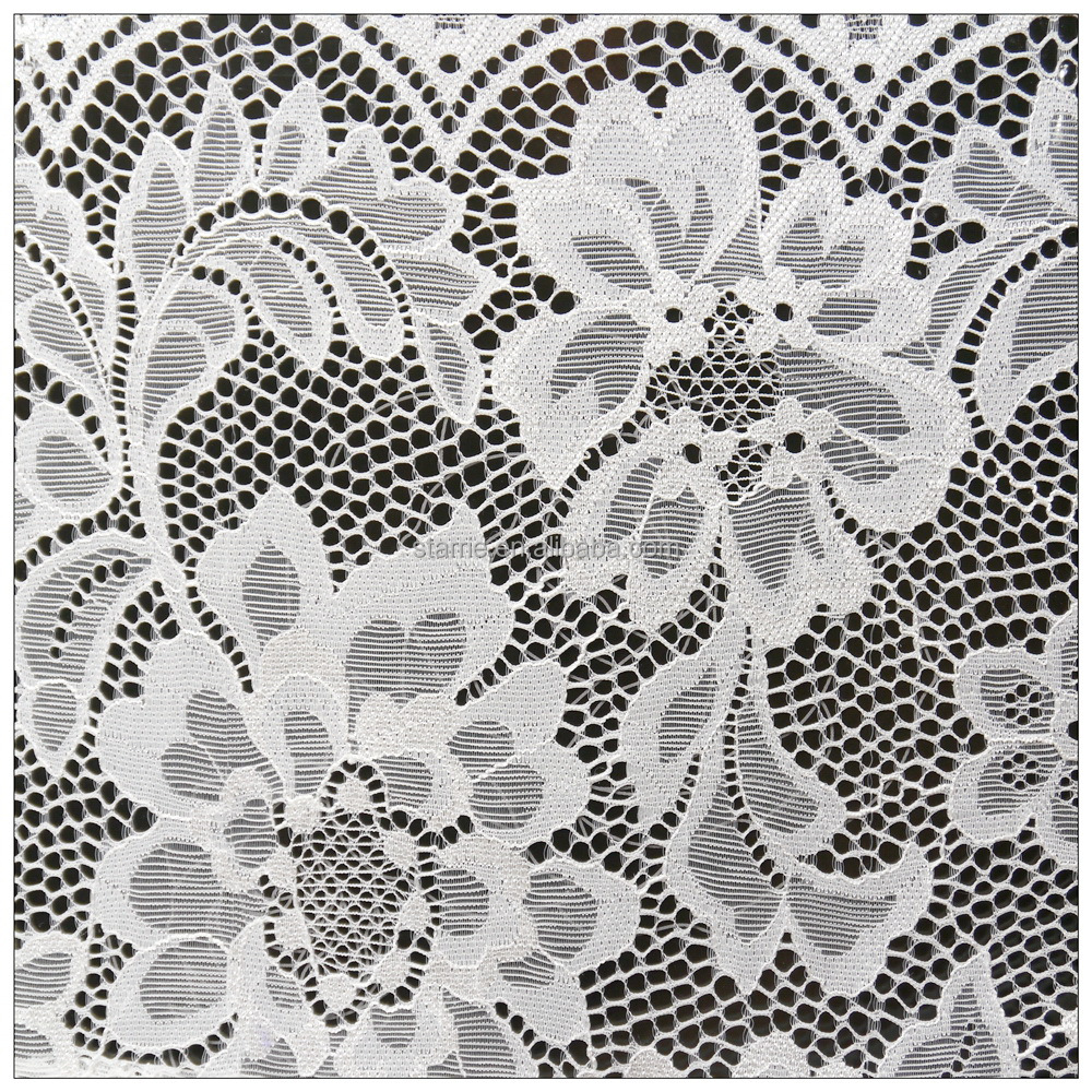Taiwan high quality African embroidery lace