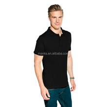 High Quality Fashion Customized Men Cotton Pique Cool Soft Polo Shirt