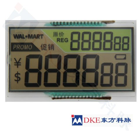 TN LCD for Electronic Shelf Label