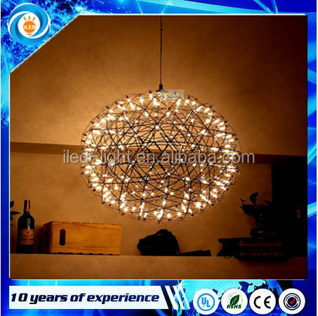 circular solar LED pendant light decoration gold large celling light for dinning room,living room,bedroom