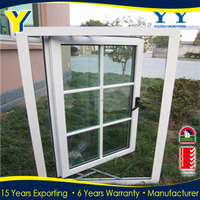New design Aluminum Windows Screen Frame French Window Grills