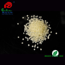 yellow hot melt granules works on glue spreader machine for pasting duplex paper strip