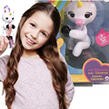 funny New Arrival wholesale price cute Interactive fingerlings unicorn pet toys