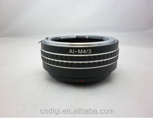 High Quality Aperture lens adapter tube AI-M4/3 For NIKON AI Mount Lens to Micro 4/3 Mount