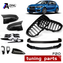 F20 Carbon Fiber Front Bumper Lip F21 Spoiler M135i Grille & Door Mirror Covers & pre-LCI & LCI Tuning Accessories For BMW