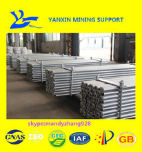 High strength coal mining underground support friction bolt for roof support