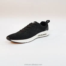 OEM/ODM low price women sneakers small quantity women black sport shoes factory directly running shoes