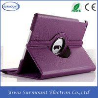 Universal Adjustable PU Leather Cover Tablet Desk Holder For iPad