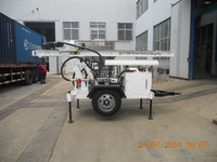 portable DTH borehole water well drilling machine SLY100