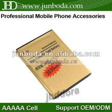 hot selling 3030mAh Battery for Galaxy Note i9220 GT-N7000 Gold
