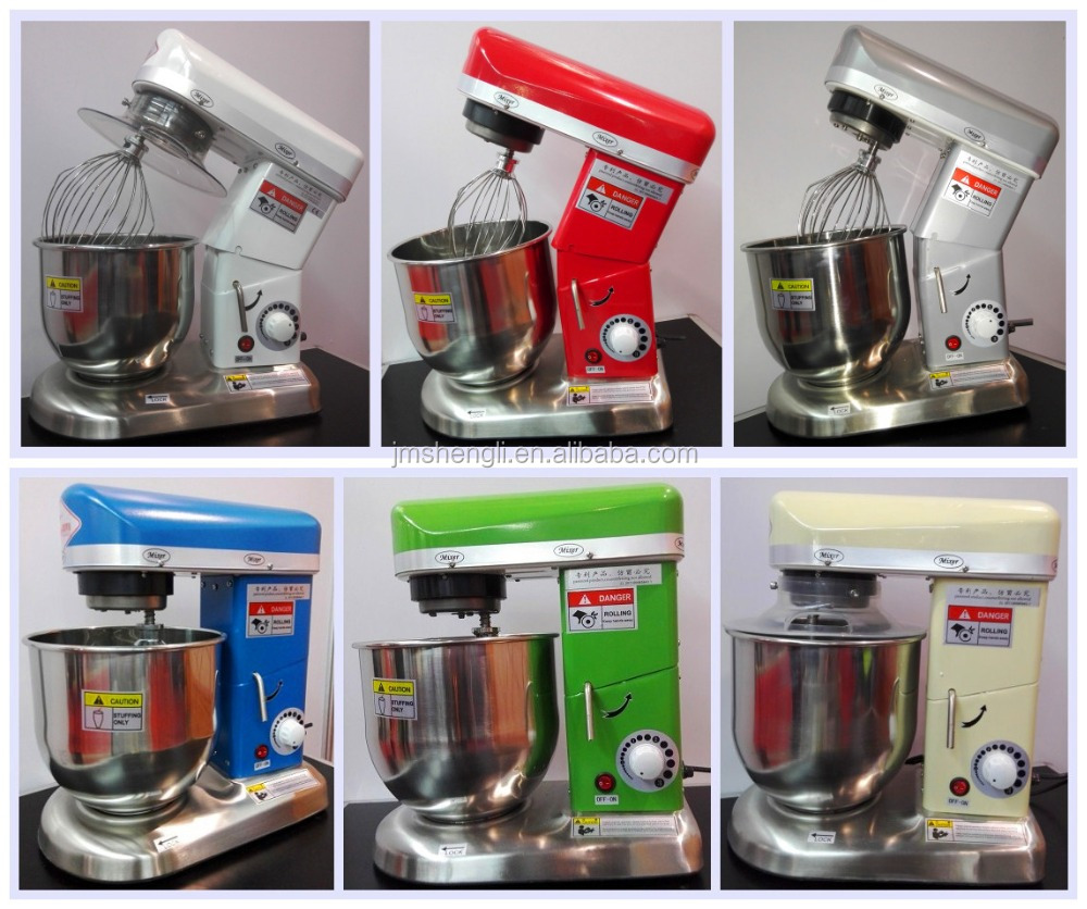 Different Color Stand food Mixer With Stainless Bowl