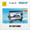 Vehicle 7 inch waterproof monitor system BY-08713MB