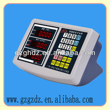 NEW ABS plastic price indicator /most popular price counting weihging indicator