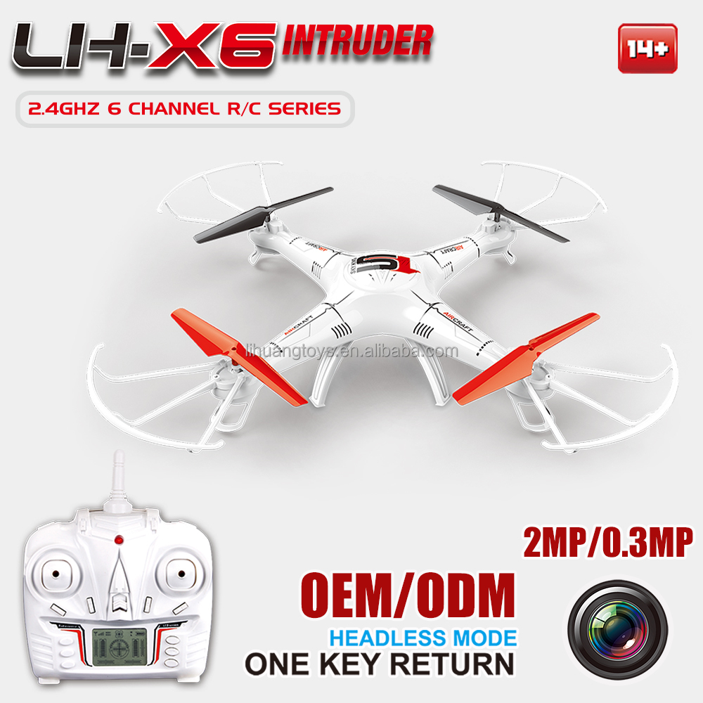2.4G Six -Axis Realtimer Transmission Quadcopter FPV RC Drone Paypal