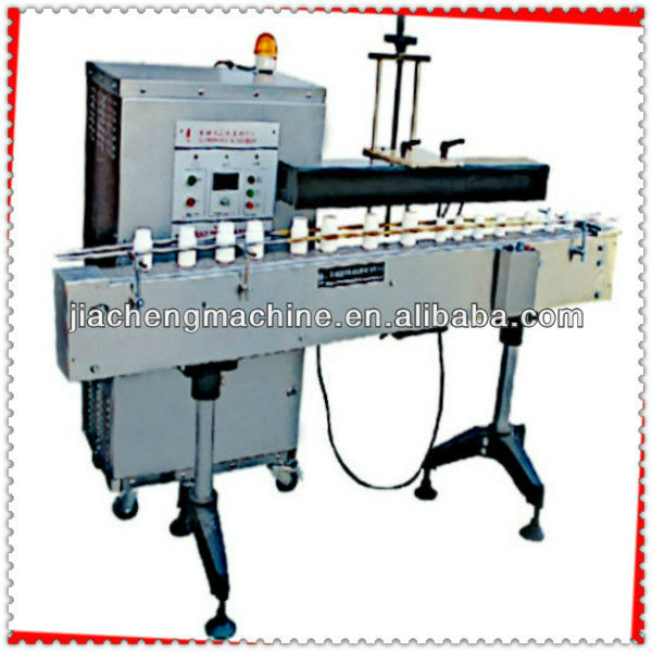 aluminium foil plastic cup sealer from jiacheng packaging machinery manufacturer