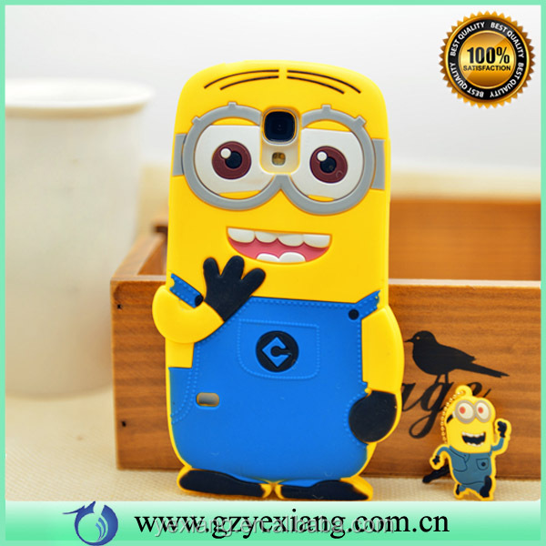 Minions Case Cover For Samsung Galaxy S5 I9600 Cute Phone Case