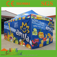Professional dye sublimation printing show room event canopy folding tents for sale