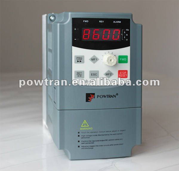 1Hp,2 Hp, induction motor variable frequency drive(220V)