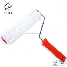 PE decorative spike roller with plastic and steel handle