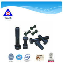 high tensile nut and bolt, standard size bolt and nut