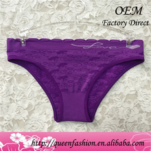 Cheap price good quality pretty youngs panty nylon spandex bikini panties