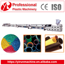 pe twin screw extruder plastic pipe production line/extrusion machine