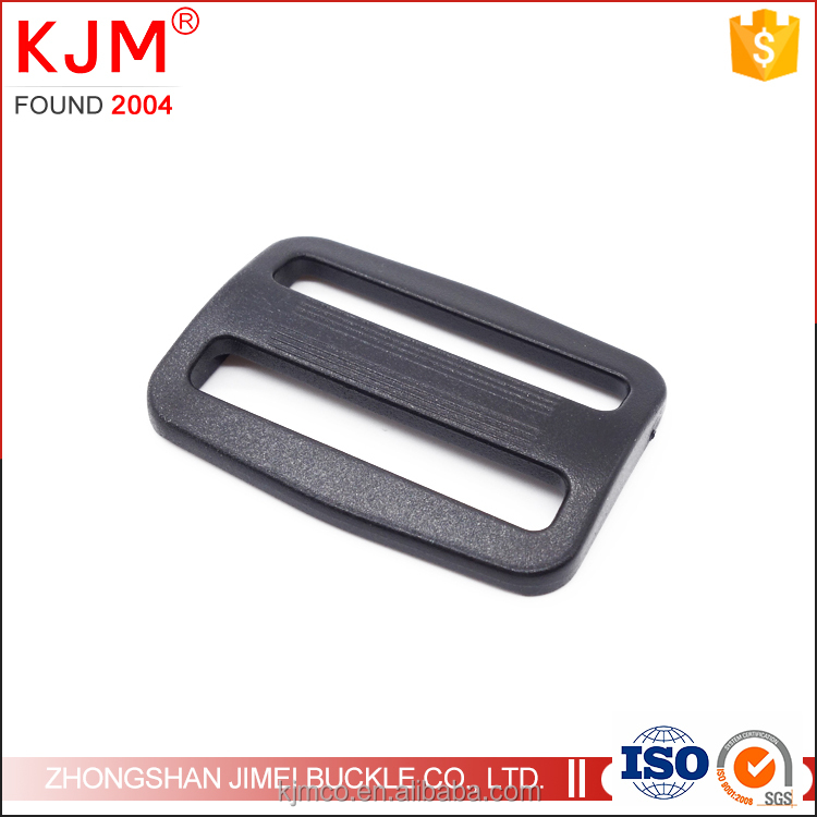 Hot sale plastic webbing slide tri-glide belt buckle for bag straps