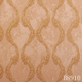 Modern simple damask design pvc wallpaper for home decor